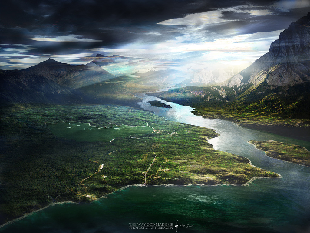 terragen - this is the way god made me